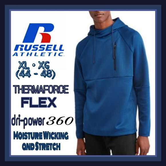 Russell Athletic Other - Pullover Athletic Thermaforce Flex Hoodie